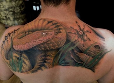 Tatuaggi tattoo Serpente